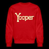Long Sleeve Shirts ~ Crewneck Sweatshirt ~ Yooper Irish Shamrocks
