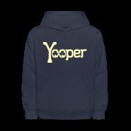Sweatshirts ~ Kids' Hoodie ~ Yooper Irish Shamrocks
