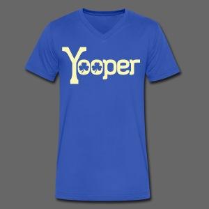 Yooper Irish Shamrocks - Men's V-Neck T-Shirt by Canvas