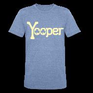 T-Shirts ~ Unisex Tri-Blend T-Shirt ~ Yooper Irish Shamrocks