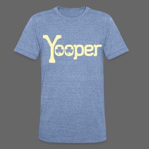 Yooper Irish Shamrocks - Unisex Tri-Blend T-Shirt