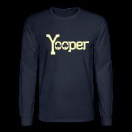 Long Sleeve Shirts ~ Men's Long Sleeve T-Shirt ~ Yooper Irish Shamrocks