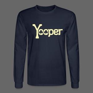 Yooper Irish Shamrocks - Men's Long Sleeve T-Shirt
