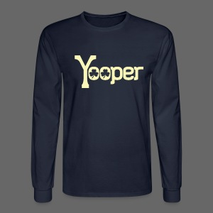 Yooper Irish Shamrocks - Men's Long Sleeve T-Shirt