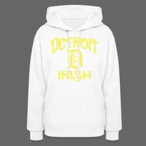 Detroit Irish With A D - Women's Hoodie