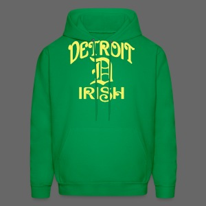 Detroit Irish With A D - Men's Hoodie