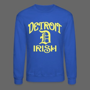 Detroit Irish With A D - Crewneck Sweatshirt