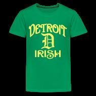 Kids' Shirts ~ Kids' Premium T-Shirt ~ Detroit Irish With A D
