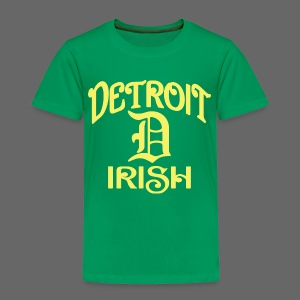Detroit Irish With A D - Toddler Premium T-Shirt