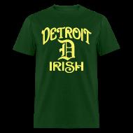 T-Shirts ~ Men's T-Shirt ~ Detroit Irish With A D