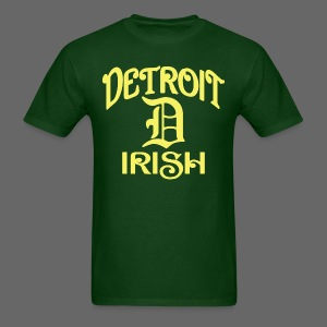 Detroit Irish With A D - Men's T-Shirt