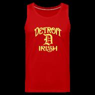 Sportswear ~ Men's Premium Tank ~ Detroit Irish With A D