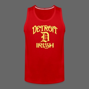 Detroit Irish With A D - Men's Premium Tank