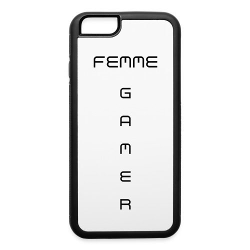Femme Gamer - Rubber Case - iPhone 6/6s Rubber Case