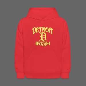 Detroit Irish With A D - Kids' Hoodie