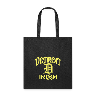Bags & backpacks ~ Tote Bag ~ Detroit Irish With A D