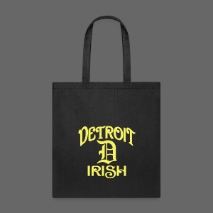 Detroit Irish With A D - Tote Bag