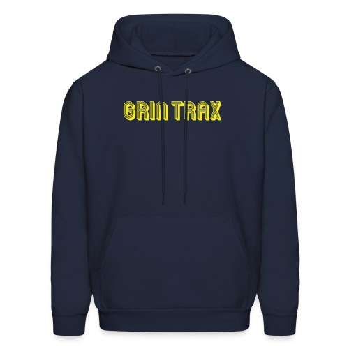 Grin-Trax-Font-Logo-Yelko - Men's Hoodie