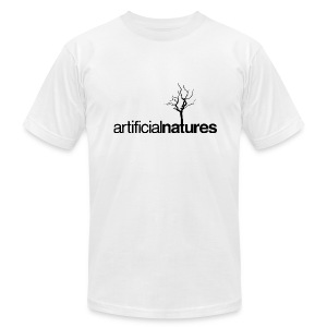Men's T-Shirt Black Treemark - Men's T-Shirt by American Apparel