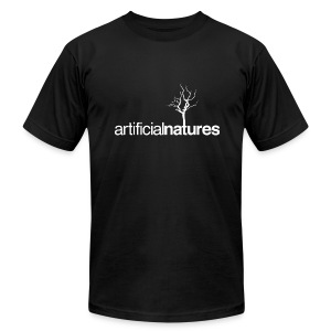 Men's T-Shirt White Treemark - Men's T-Shirt by American Apparel