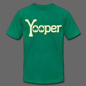 Yooper Irish Shamrocks - Men's Fine Jersey T-Shirt