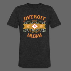 Detroit Irish Label - Unisex Tri-Blend T-Shirt