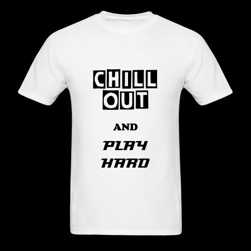 CO PLAY HARD BLACK - Men's T-Shirt