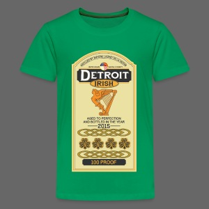 Detroit Irish Whiskey - Kids' Premium T-Shirt