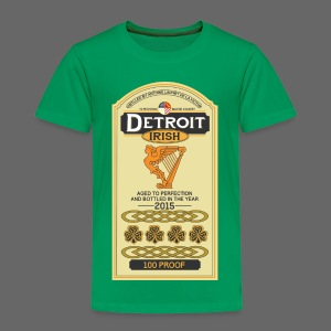 Detroit Irish Whiskey - Toddler Premium T-Shirt