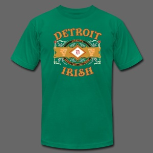 Detroit Irish Label - Men's Fine Jersey T-Shirt