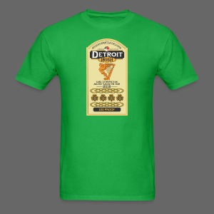 Detroit Irish Whiskey - Men's T-Shirt