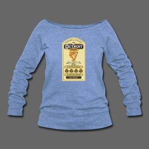 Detroit Irish Whiskey - Women's Wideneck Sweatshirt