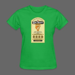Detroit Irish Whiskey - Women's T-Shirt