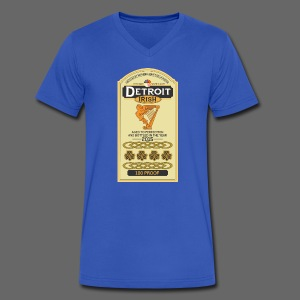 Detroit Irish Whiskey - Men's V-Neck T-Shirt by Canvas