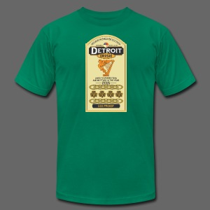 Detroit Irish Whiskey - Men's T-Shirt by American Apparel