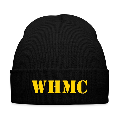 Patch Holder Beanie - Knit Cap with Cuff Print