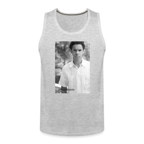 Jeffrey Almonte Washed Print MEN'S - Men's Premium Tank