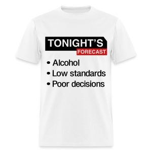 Tonight's Forecast (Men's) - Men's T-Shirt