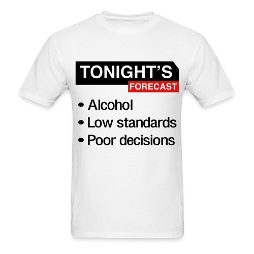 Tonight's Forecast (Men's) - Men's T-Shirt