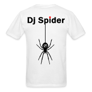 T-Shirts ~ Men's T-Shirt ~ Dj Spider - PZS