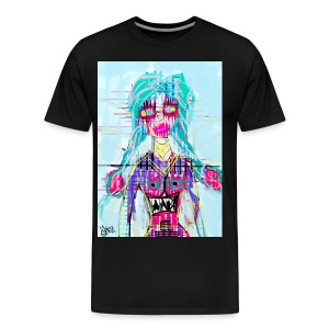 Girl face T_SHIRT - Men's Premium T-Shirt