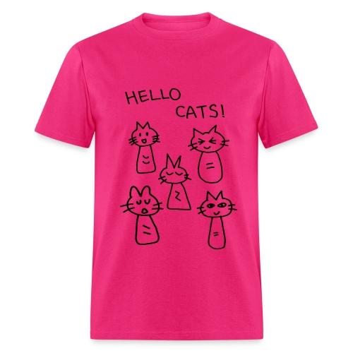 Hello Cats! - Men's T-Shirt