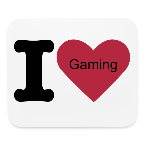 I love gaming mouse pad - Mouse pad Horizontal
