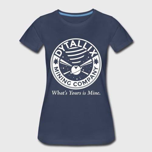 Star Trek Conspiracy Dytallix - Women's Premium T-Shirt