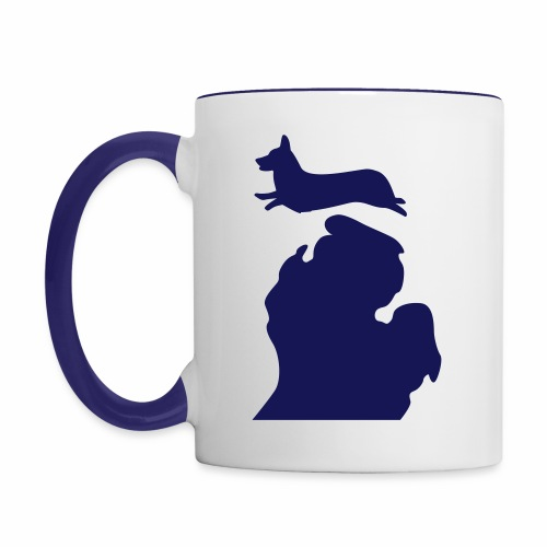 Corgi mug - Contrast Coffee Mug