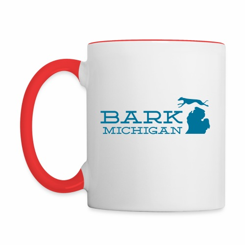 Bark Michigan mug - Contrast Coffee Mug