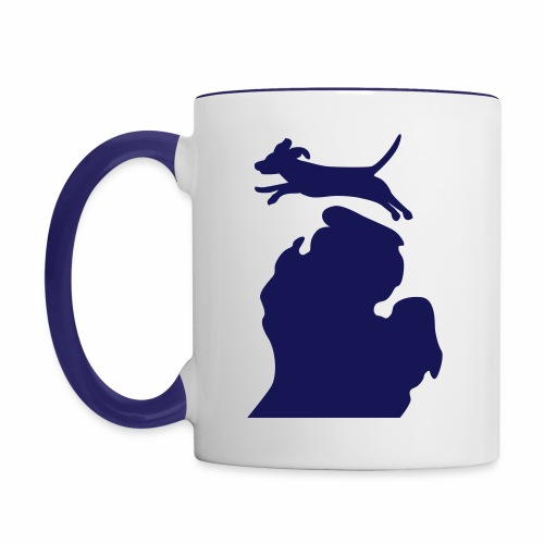 Beagle mug - Contrast Coffee Mug