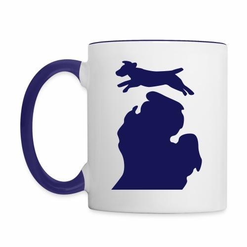 Jack Russell mug - Contrast Coffee Mug