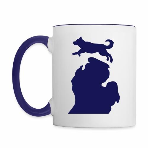 Husky mug - Contrast Coffee Mug