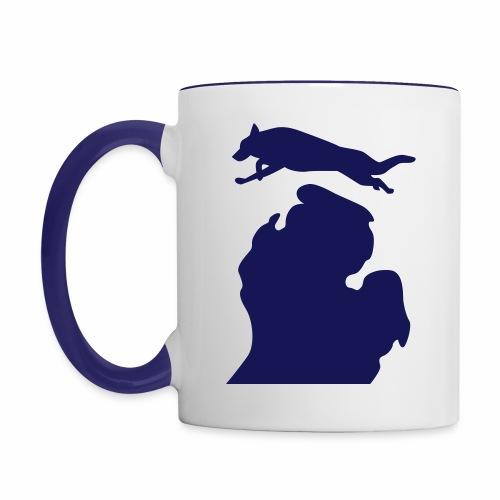 German Shepherd mug - Contrast Coffee Mug